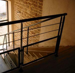 escalier int rieur et garde corps. Black Bedroom Furniture Sets. Home Design Ideas